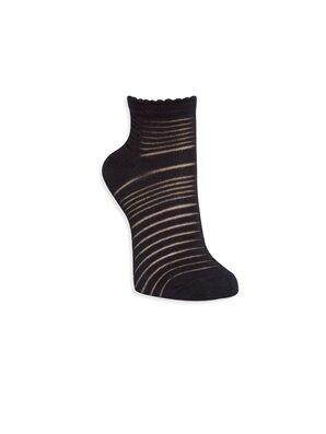 Siyah Soket Çorap
