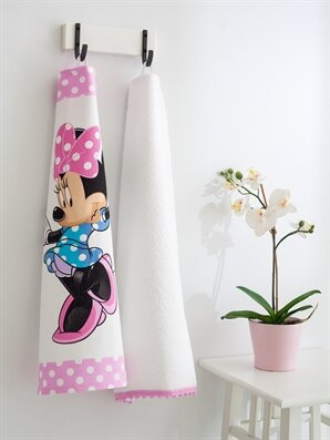 Minnie Mouse Kurulama Bezi 2'li - LCW HOME