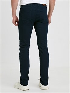 Erkek Slim Fit Gabardin Chino Pantolon