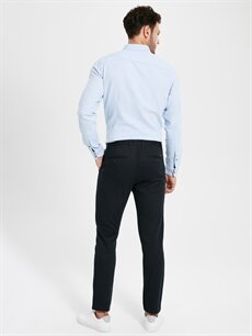 Erkek Slim Fit Chino Pantolon