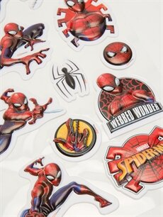 %100 Diğer  Spiderman Sticker